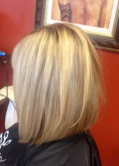 Inverted Long Layered Bob Frisuren