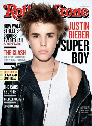 Justin Bieber Edgy Frisur Rolling-Stone