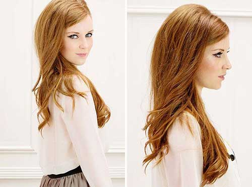 Simple Style Side Swept Pony