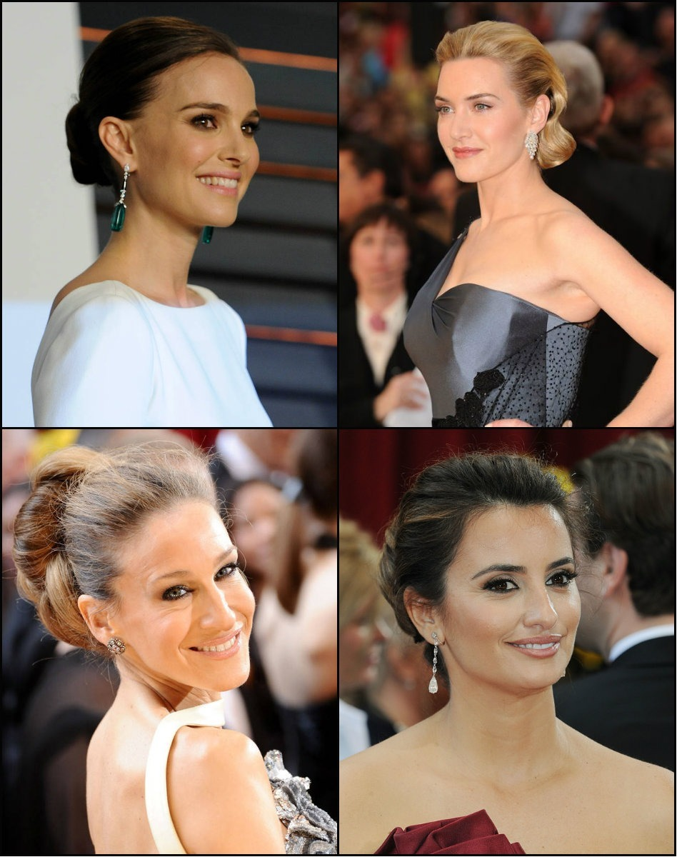 best Oscars Updo Frisuren