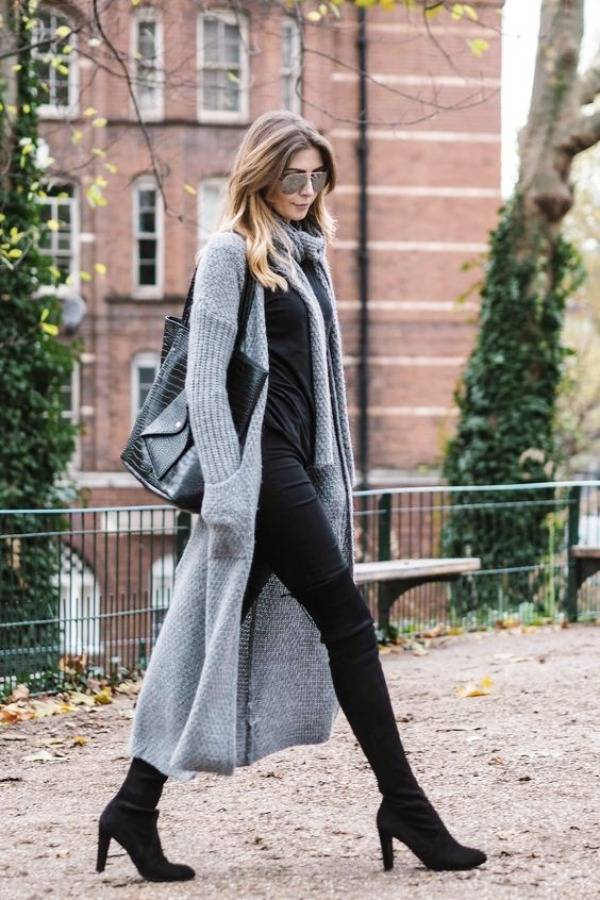 Latest-Kniehohe Stiefel-Outfit-Ideen