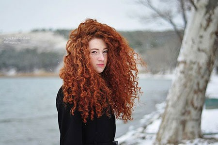 Red Curly Warm Redheads Seite Merida Heads Girl