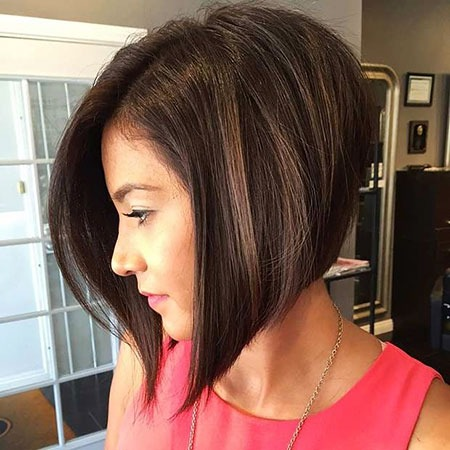 Bob Inverted Short Bobs Long Layered Knot