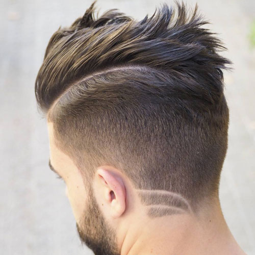 Kamm Over Taper + Haar-Design + Bart