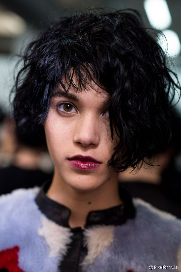 Emporio Armani Bob Frisuren Trends 2017 Herbst Winter 2018