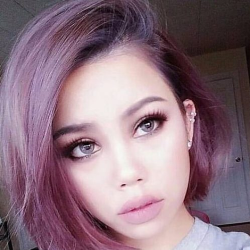 opera mauve plum hair colour