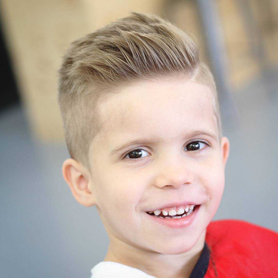 12. Little Boy Haircut