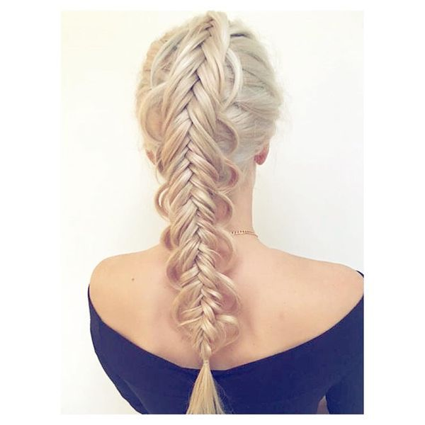 Brilliant Double Fishtail Braid