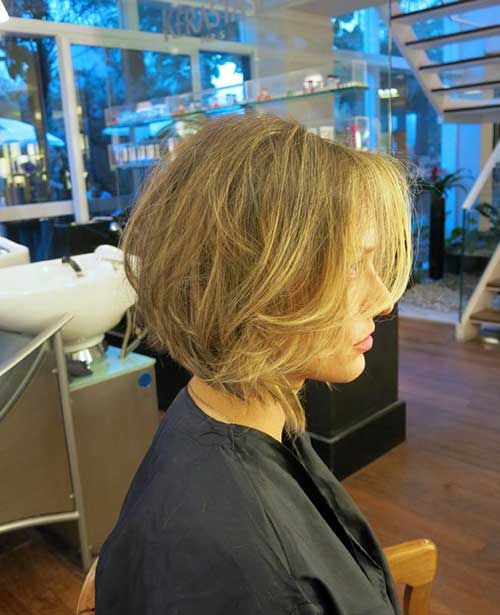 Bob Frisuren mit Side Bangs-14