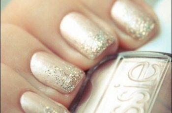 Bild von Wedding Nail Design, Nägel Polish Wedding Glitzer