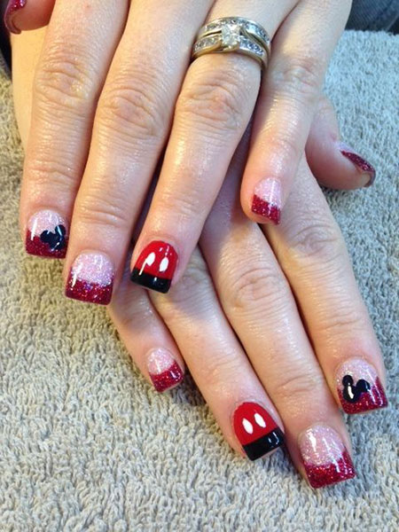 Mickey Mouse Disney Gel