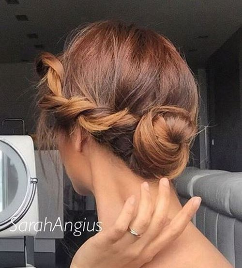 Side Braided Bun