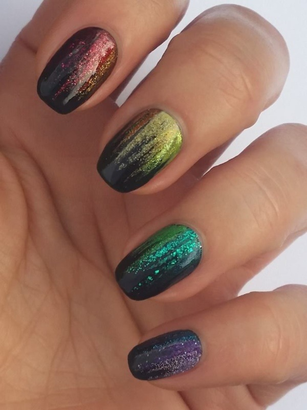 Glitzernde Nail Art Ideas For Summer 20160271