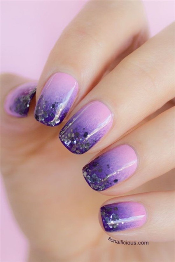 Glitzernde Nail Art Ideas For Summer 20160371