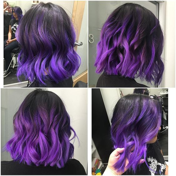 Ombre Hair und Purple Ombre (1)