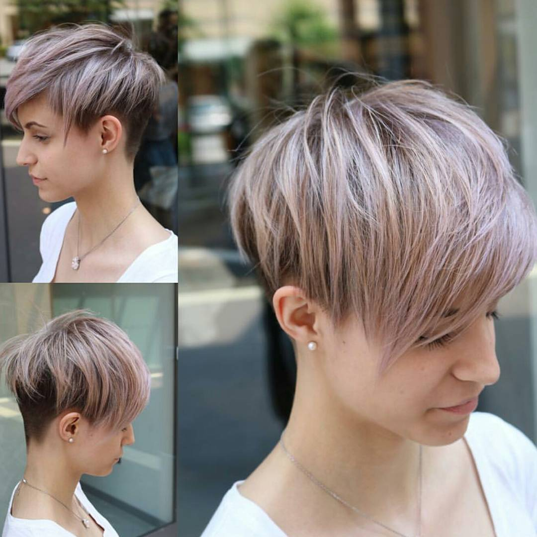 Trendy Kurzhaarfrisuren für Frauen, Easy Pixie Haircut Trends