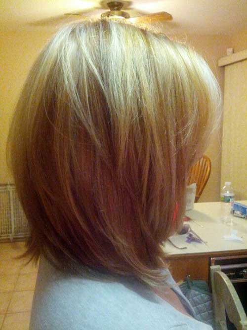 Long Layered Straight Bob
