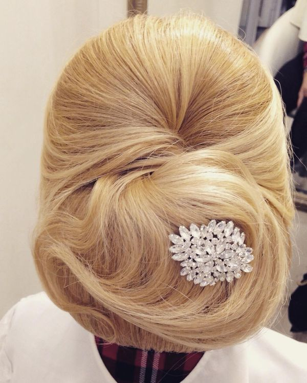 Elegant Low French Twist