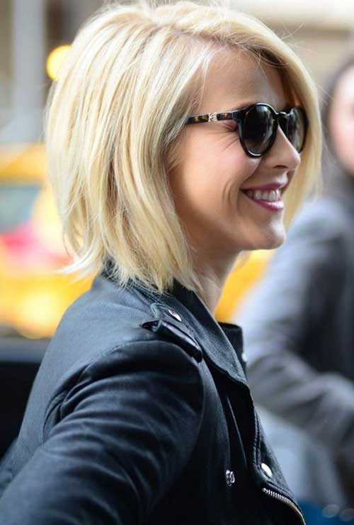 Julianne Hough Blonde Bob Haarschnitte 2014