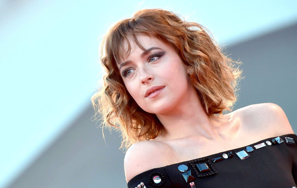 VENEDIGER FILMFESTIVAL 2015 Dakota Johnson Bob HairCut