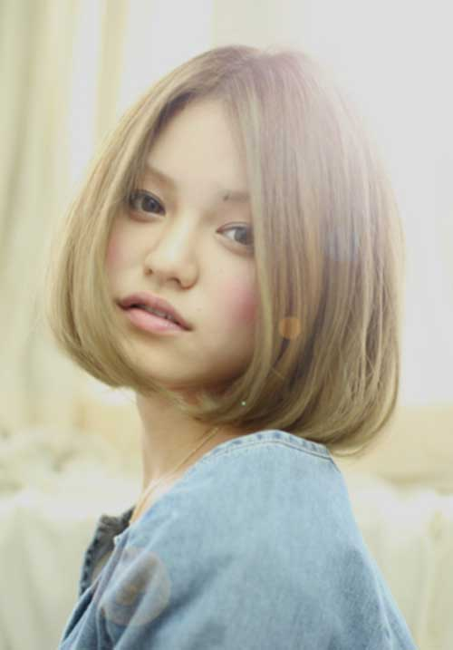 Asian Straight Bob Frisuren