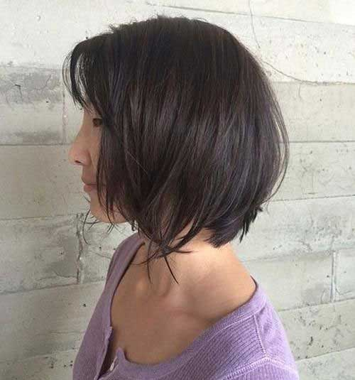 Brunette Short Hairstyles-8