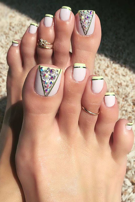 Nail Toe Cute Designs