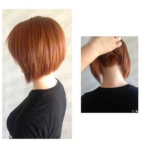 Layered Short Hairstyles-17