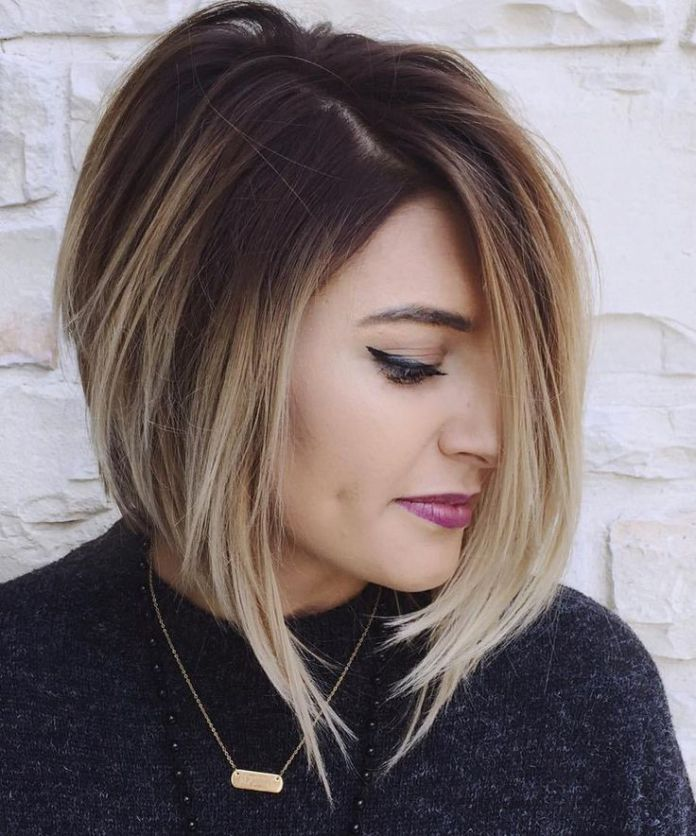Edgy Inverted Bob