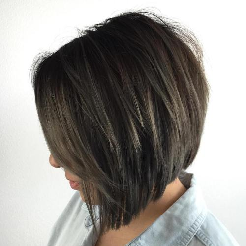 Soft-layered Bob Frisuren