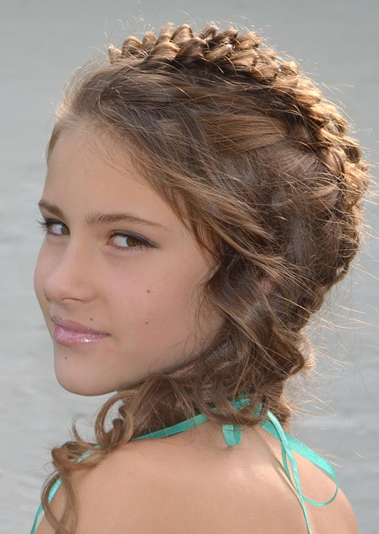 Frisur French-Braid-With-Layers