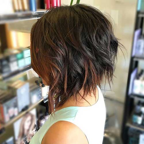 Layered Short Hairstyles-13