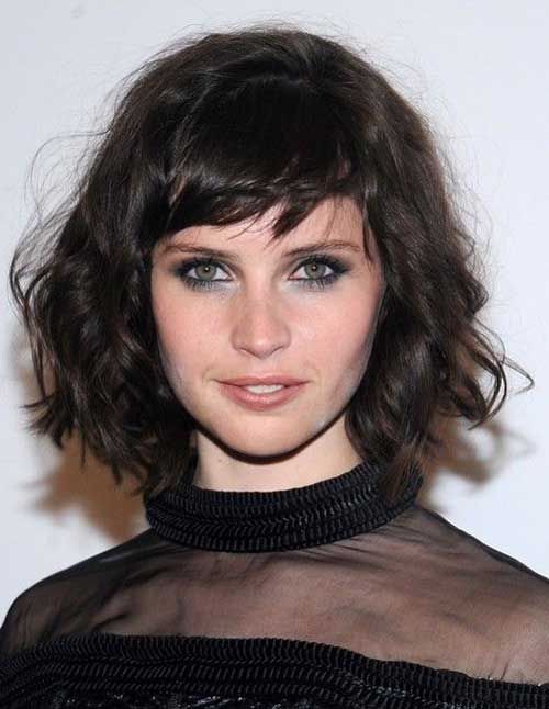 Bob mit Side Swept Bangs-9