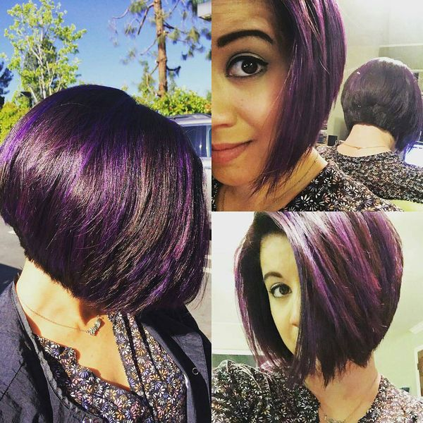 Fantastische Purple mit Traditional Black0