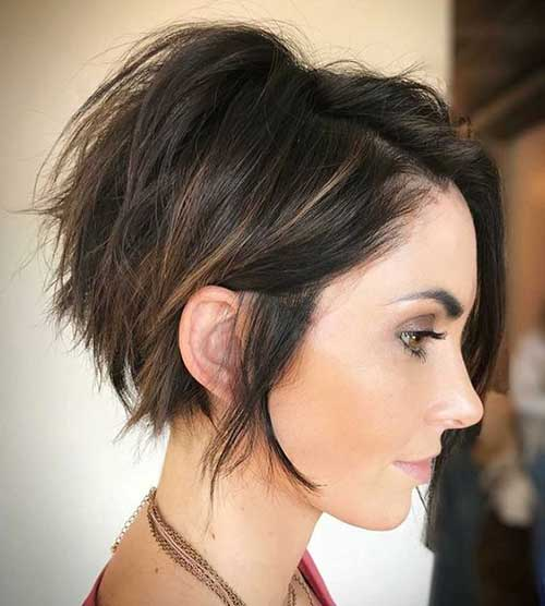 Layered Short Hairstyles-16