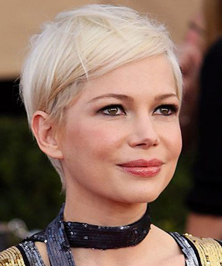 Michelle Williams Short Pixie
