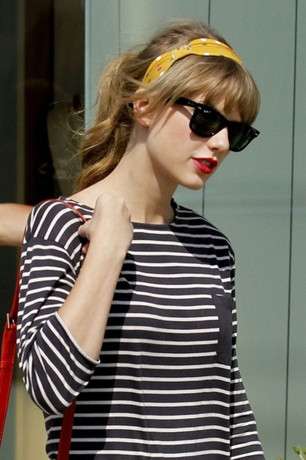 Lang und kurz Celebrity Hairstyles37-Taylor Swift Frisur
