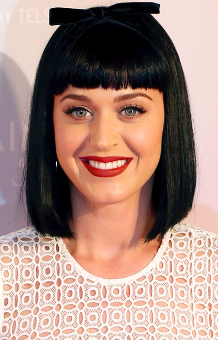 Katy Perry Blunt Bangs