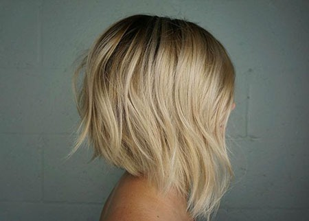"Bob Blonde Bobs - Highlights Blond Balayage Baby Artist Abgewinkelt""width=""450""height=""322"