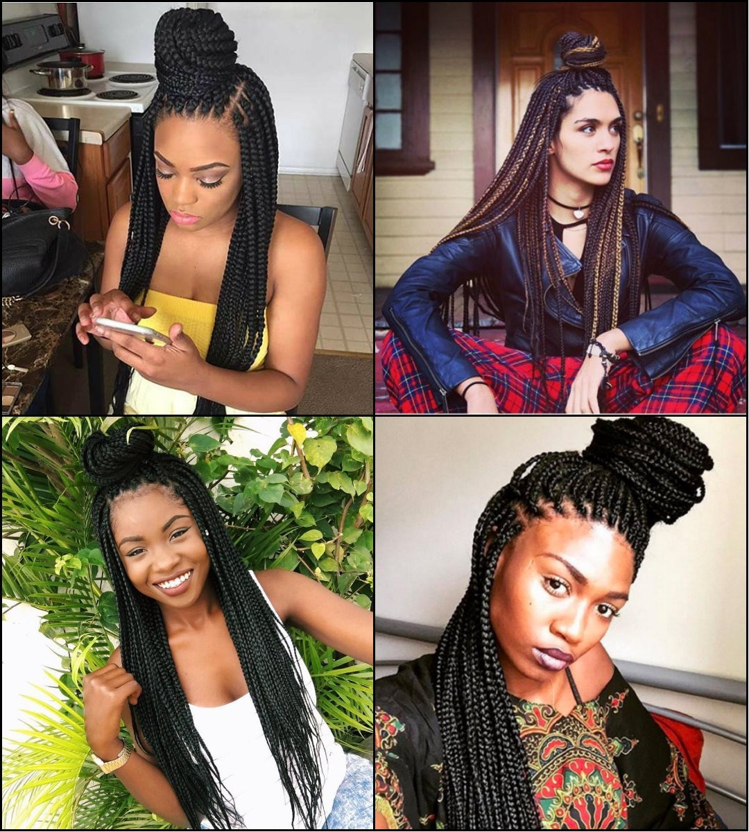 Best-Half-Up-Half-Down-Box-Braids-Bun-Frisuren