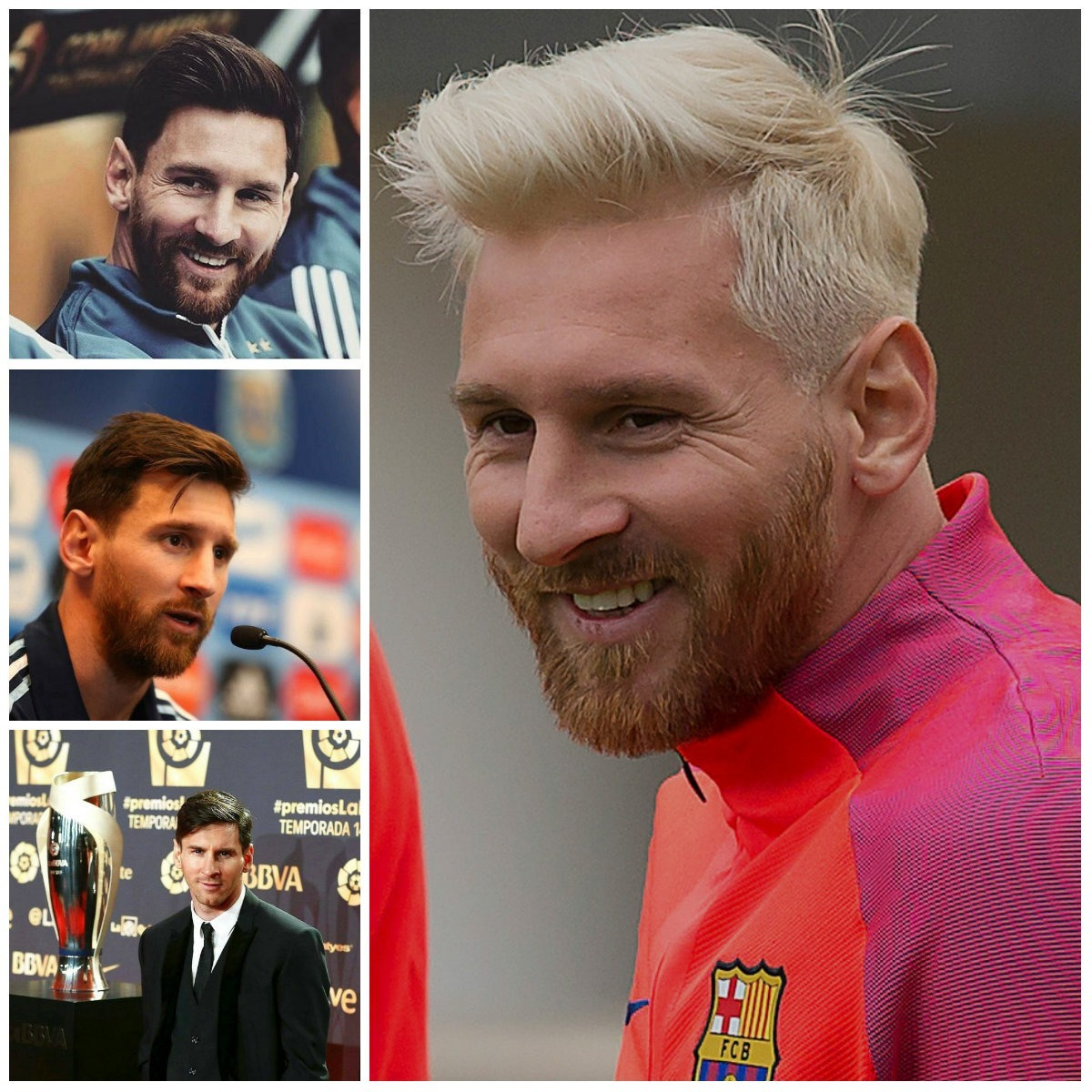 Lionel Messi Hairstyle Ideas