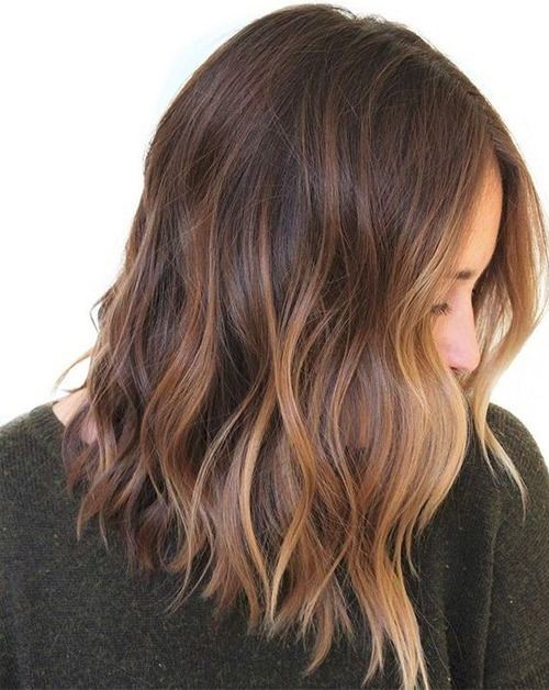 Fantastische Balayage Medium Frisuren für Frauen, Super Hot