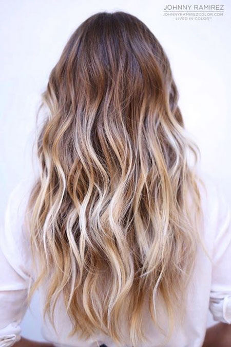 Süße Blondine, Hair Balayage Ombre Blonde