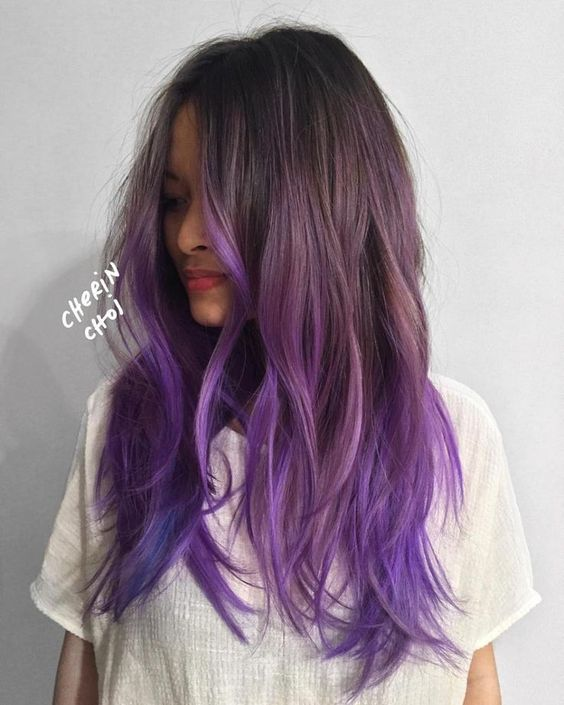 Ombre Hair und Purple Ombre (4)