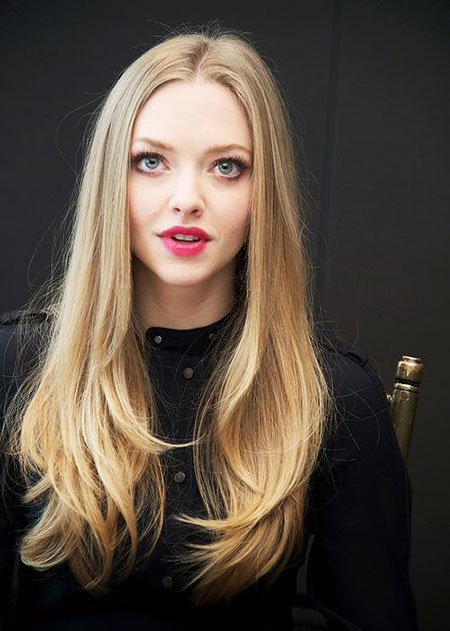 Amanda Seyfried Langes Haar, Amanda Seyfried Blonde Cara