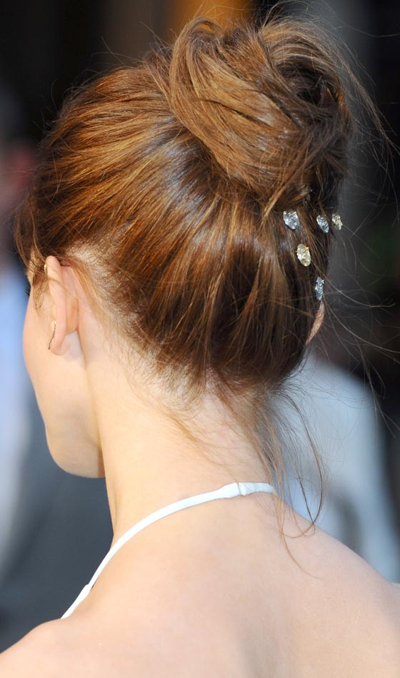 Traditional Bun Hairstyle