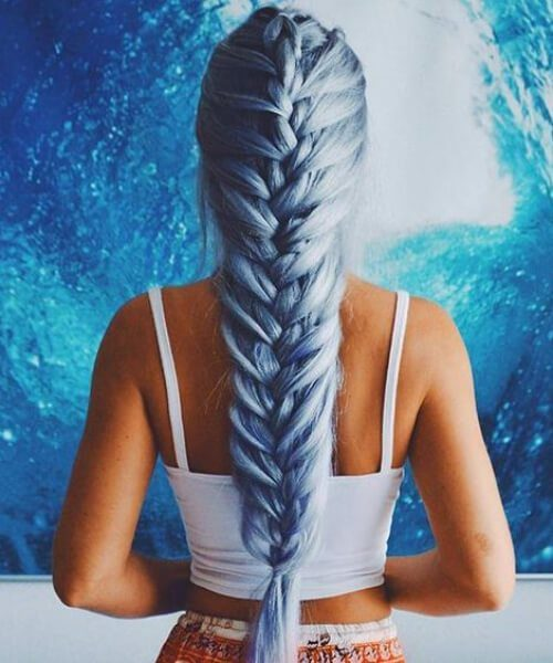 French Braid Frisuren