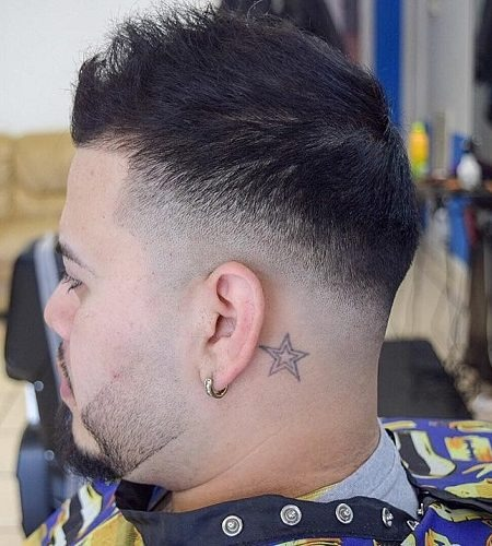 Spiked Fade Hair