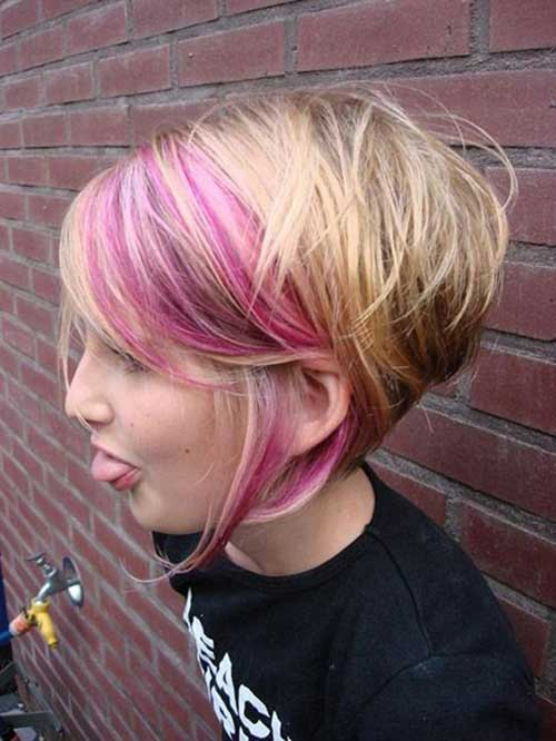 Trendy blonde kurze blonde Frisuren 2015