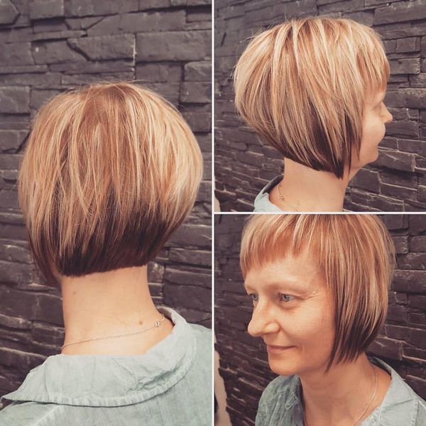 Wonderful Streaked Kurz Bob0